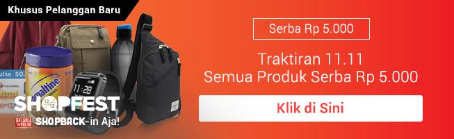 Promo Serba Rp 5.000