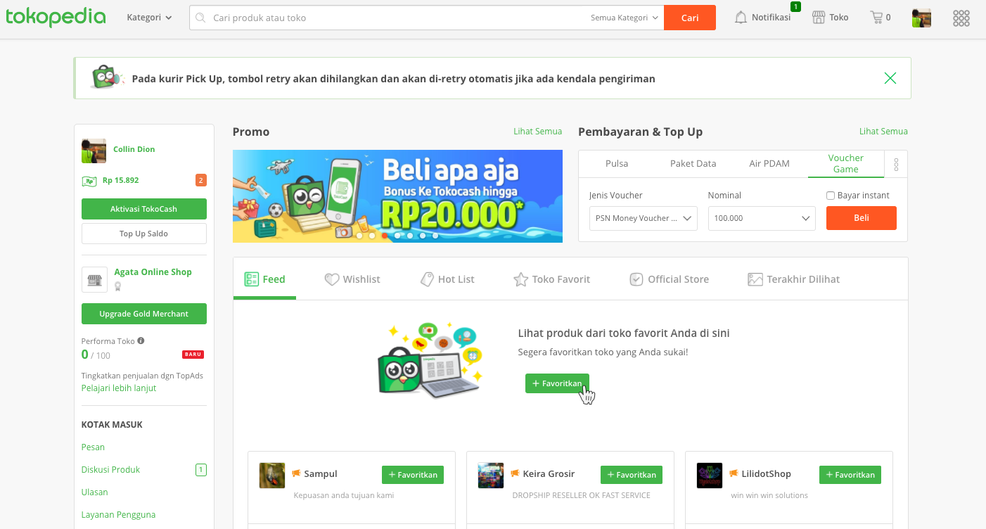 Promo Tokopedia Indonesia