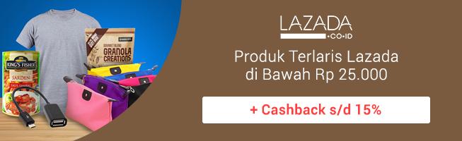 Produk Terlaris Lazada di Bawah Rp 25.000