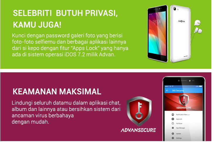 Keunggulan Advan i5C Plus