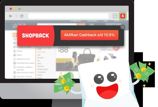 ShopBack Cashback Buddy - Tombol Cashback