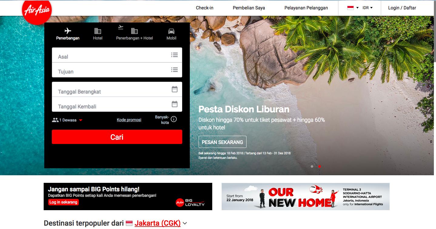 AirAsia Promo - Promo Tiket AirAsia Januari 2020 | ShopBack