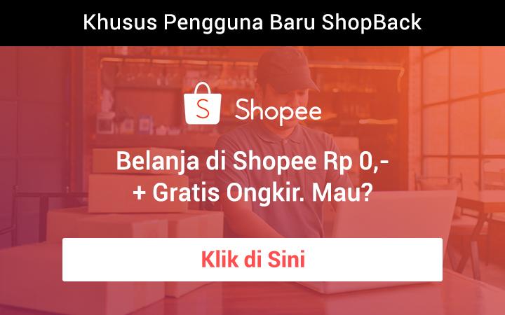 Belanja Rp 0,- di Shopee