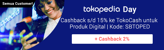 Promo Tokopedia 1