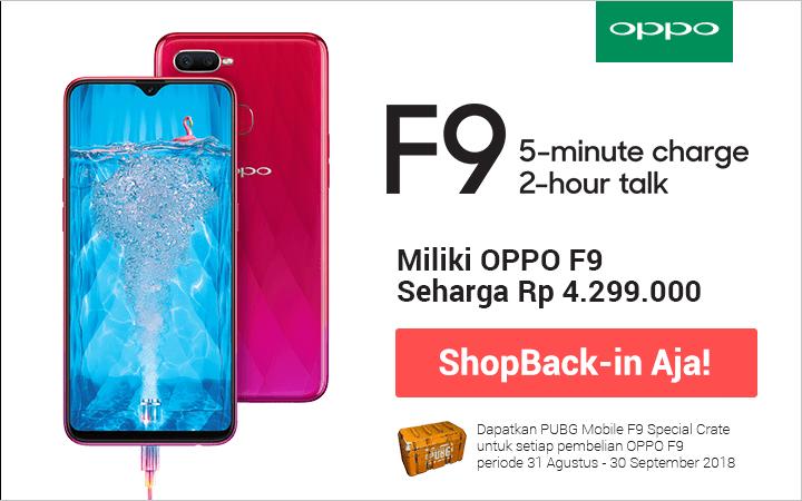 Oppo F9 Launch