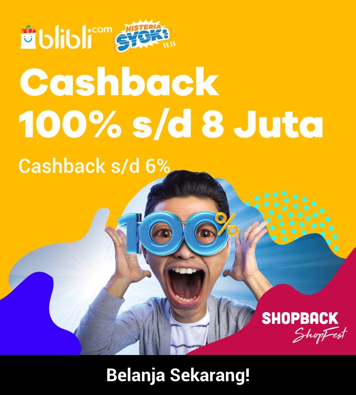 blibli 11.11 cashback 50%