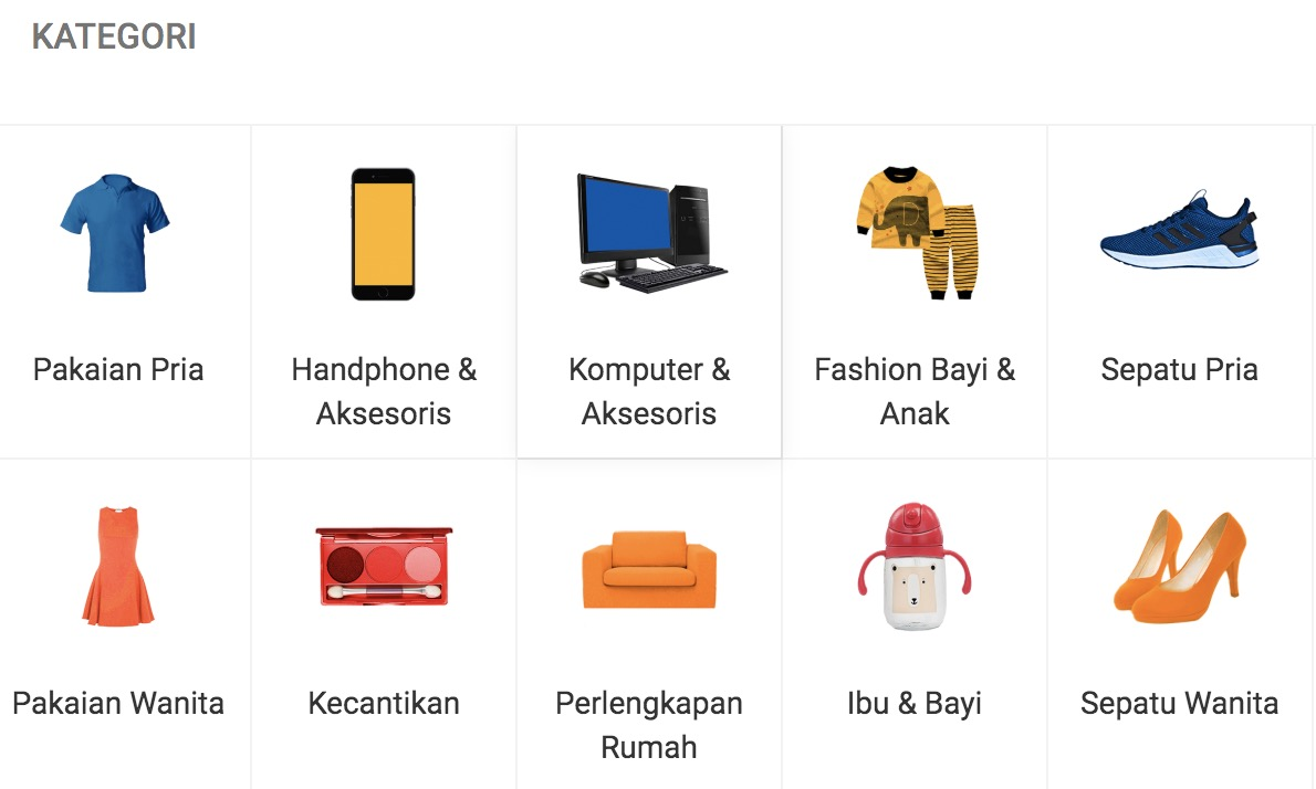 voucher shopee kategori produk best seller shopee