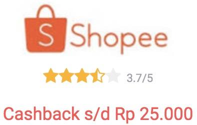 cashback shopee dari shopback