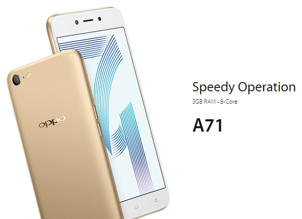 hp oppo a71
