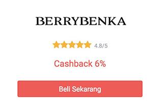 cashback berrybenka dari shopback
