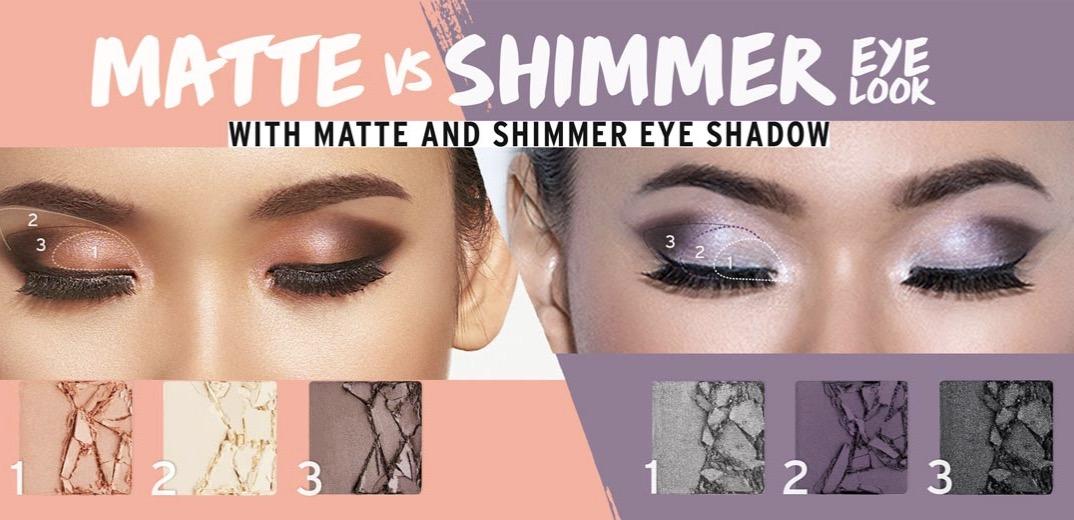 make up mata eyeshadow dengan the body shop