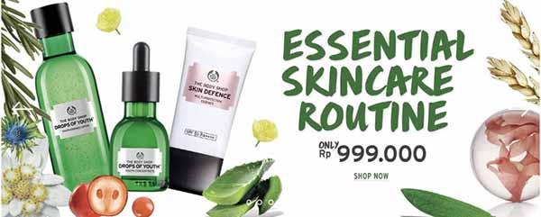 the body shop promo skin care