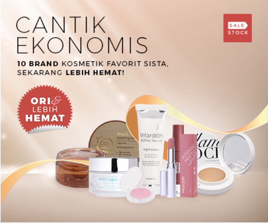 promo diskon make up official branded di sale stock
