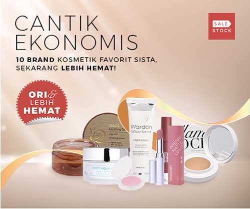 promo diskon make up official branded di sale stock