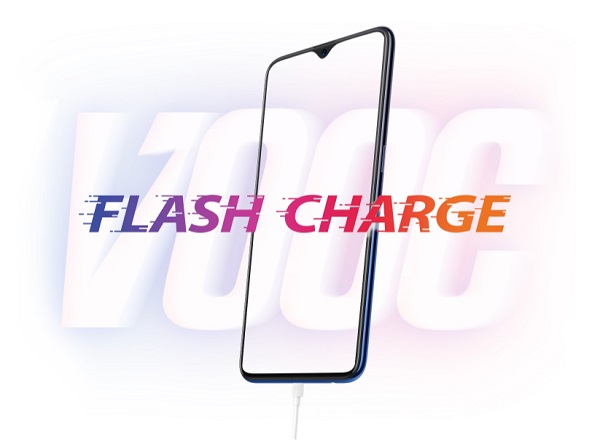 fitur flash charge oppo f9