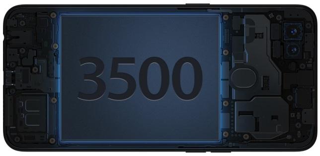 spesifikasi baterai 3500mah