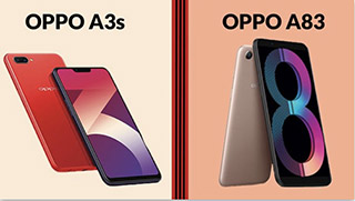 perbandingan oppo a3s dengan oppo a83