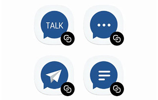 dual messenger samsung j3 pro