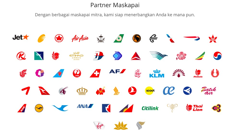 Tiket.com Promo - Partner Maskapal Terlengkap