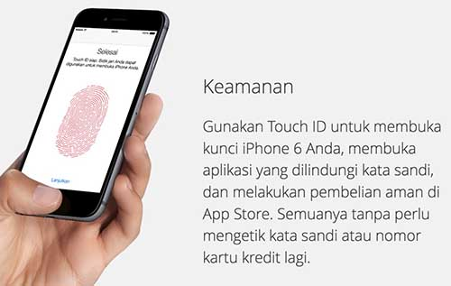 fingerprint iphone 6
