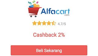 cashback alfacart dari shopback