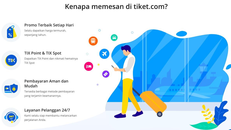 Alasan Tiket.com