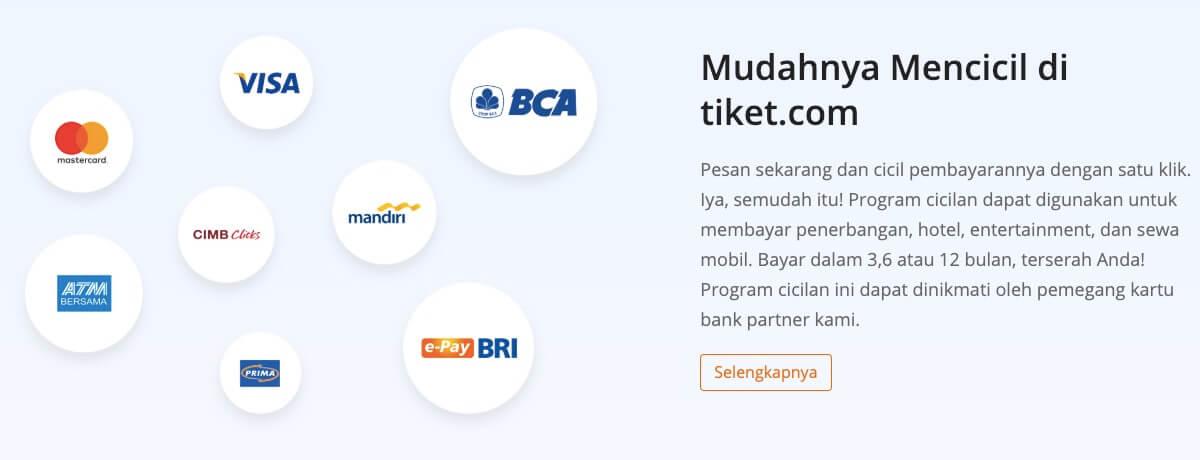 Cicilan Tiket.com