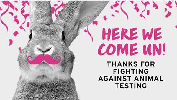 the body shop against animal testing