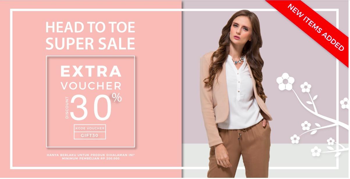 Extra Voucher MatahariMall 30%
