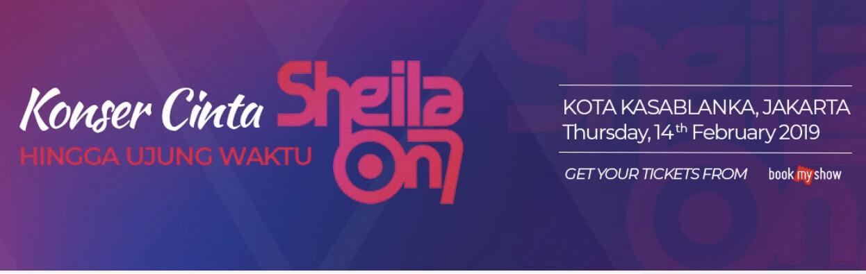 Konser Sheila ON 7  - BookMyshow