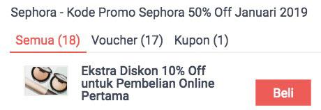 produk diskon sephora indonesia