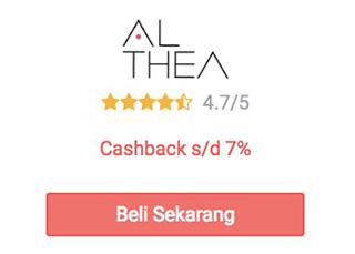 cashback althea dari shopback