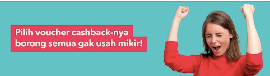 Voucher Cashback Blanja.Com
