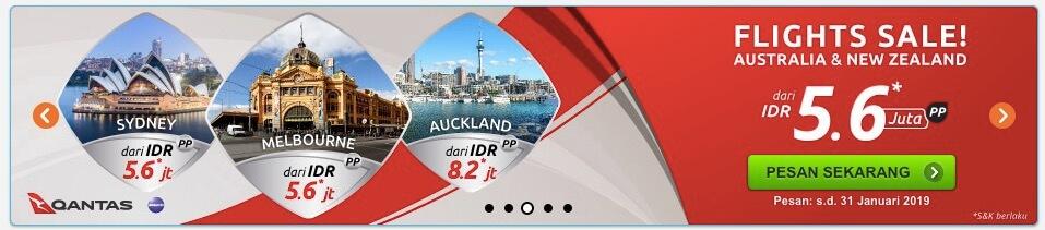 Flight Sale Australia Nusatrip
