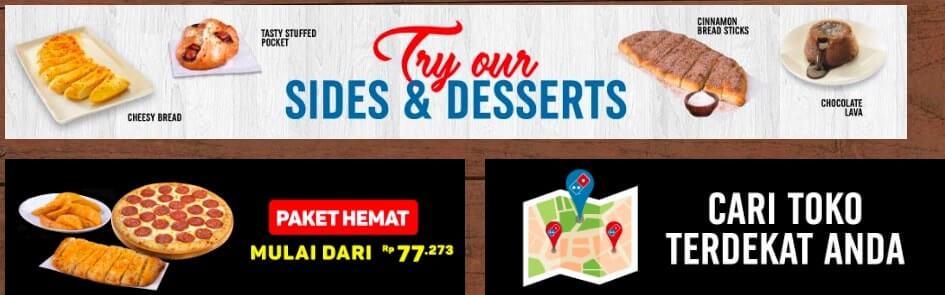 Sides & Desserts Dominos Pizza