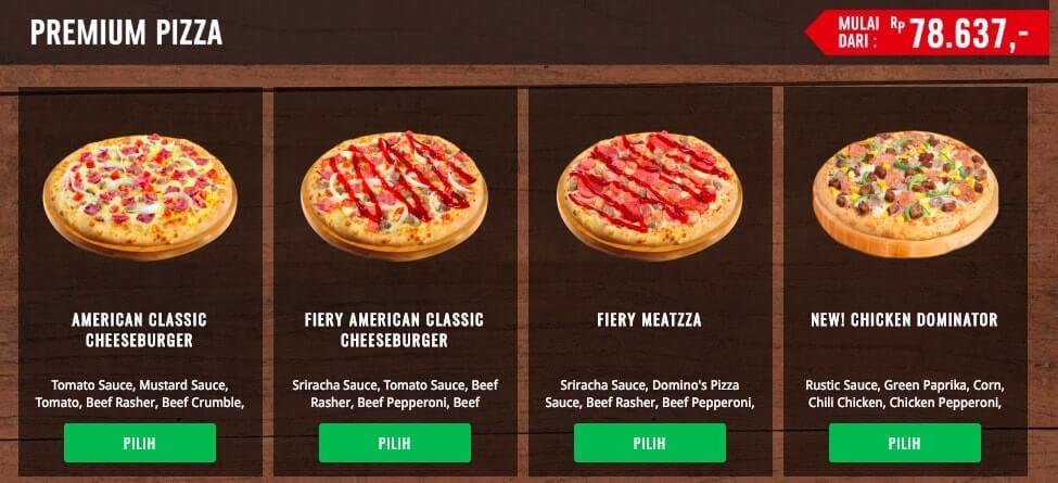 Dominos Pizza - Premium Pizza