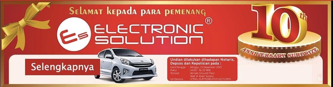Electronic Solution Doorprize
