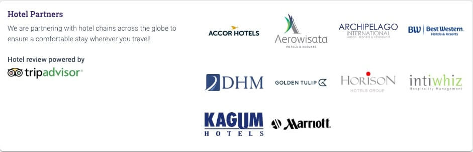 Sriwijaya Air Hotel Partners