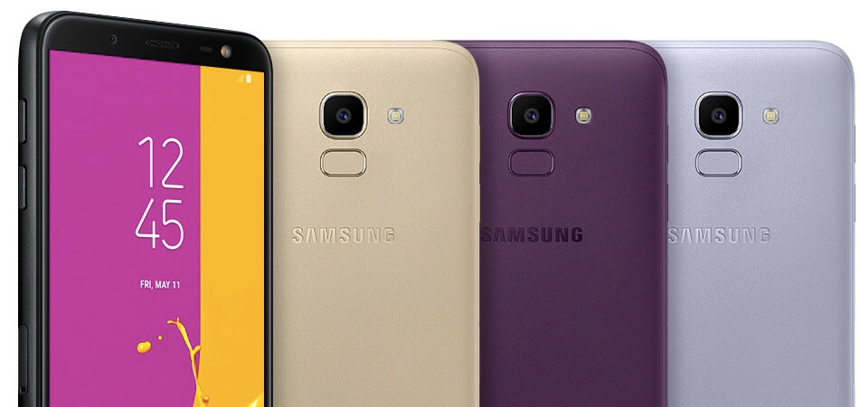 Warna Samsung Galaxy J6