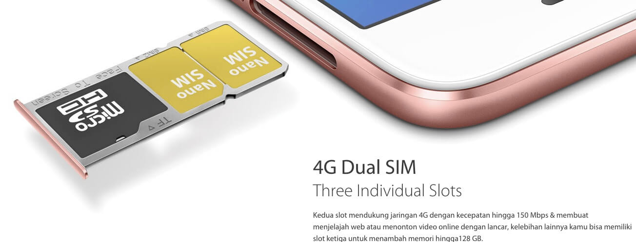 4G Dual Sim Oppo A3S