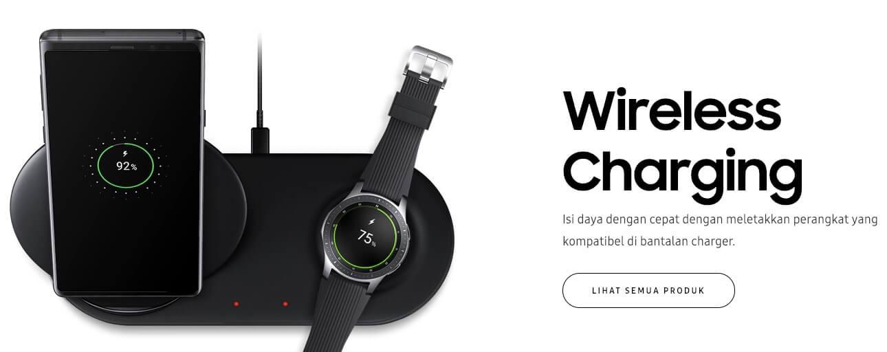 Wireless Charging Samsung
