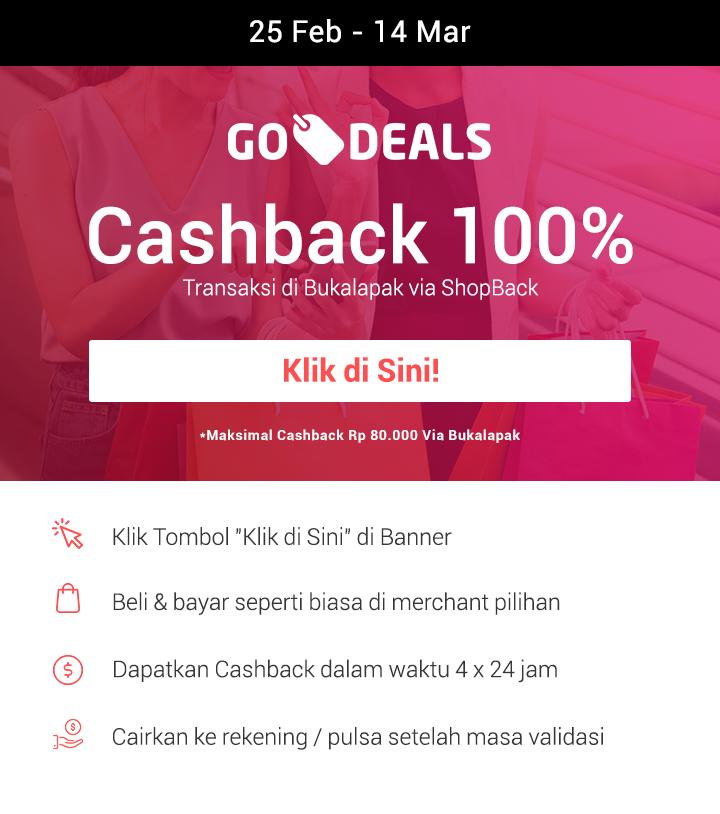 Promo GO-DEALS Bukalapak