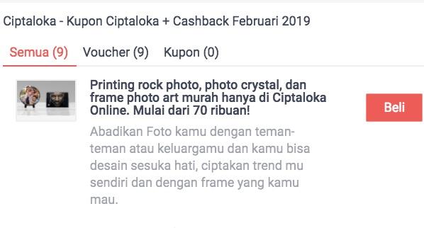promo diskon ciptaloka di situs shopback