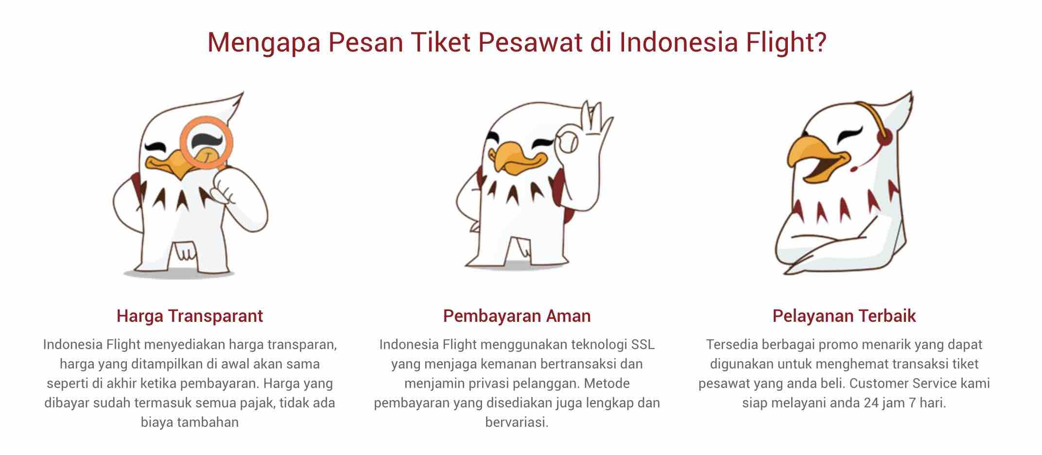 Indonesia Flight Promo Tiket