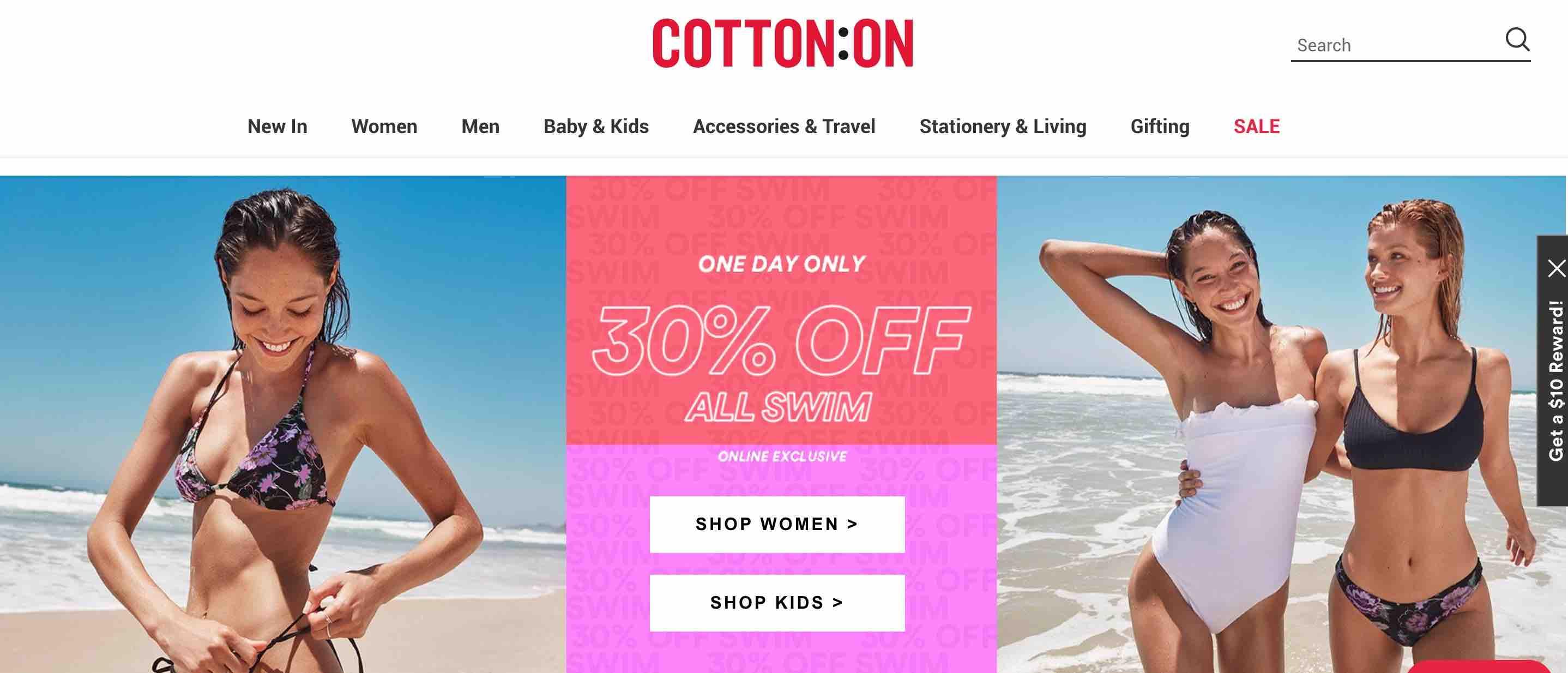Cotton On - Promo Fashion