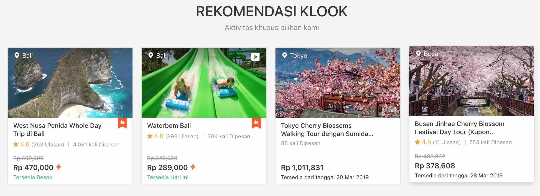 Klook - Promo Klook ID + Cashback Juli 2019| ShopBack