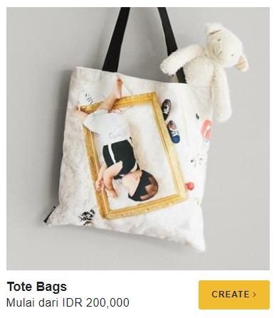 tote bag kreatif dari printerous moments