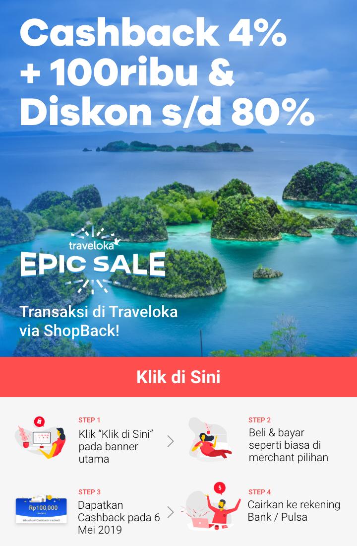 Promo spesial Traveloka