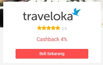 kode kupon traveloka dan cashback dari ShopBack