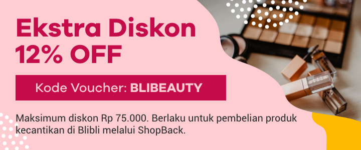 Ekstra Diskon Blibli Beauty